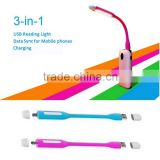 hot new products for 2015 data sync function LED USB lamp made in china