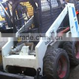 used good condition wheel loader BOBCAT 743 in cheap price for sale