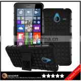 Keno Free shipping Rugged Hard Robot Back Cover Stand Holder Kickstand Case for Nokia Lumia 640 XL
