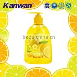 Lemon antibacterial hand wash liquid soap factory