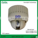 Supply Night vision cctv mini PTZ dome camera with auto gain control