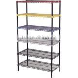 wire mesh shelf/ metal storage shelf /metal bread baskets
