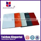 Alucoworld High quality Metallic colorful marble gloss aluminum composite panel ACP commercial ceiling tiles