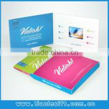 Business promotion tool video brochure for advertise , TFT Video booklet, video brochure card with High quality