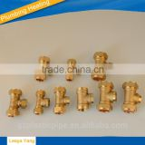 brass fitting for three way thread connector/brass fittings/Brass plumbing fitting,brass pipe fitting tee