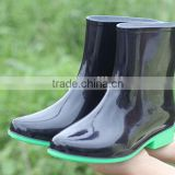 New waterproof plastic ladies safety shoes