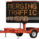 Advertising Flatdeck Solar Sign Traffic Traier for Hot Sale