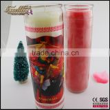 long time burning 7 day burning religious church votive glass candle                                                                         Quality Choice