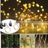 USB LED Starry String Lights Copper Wire Lights Fairy For Decorative Christmas Holiday, Wedding, Parties --Outdoor Waterproof,