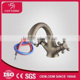 Traditional fashion swan neck double handle faucet MK29104