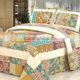 luxury cotton bed sheet set twin queen king bedspread set                                                                         Quality Choice