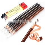 5 Colors High Quality Soft Crayon Waterproof Eyebrow Eyeliner Pencil Fashion Women Beauty Makeup Eyebrow Enhancer