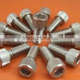 Hexagon Socket Thin Head Cap Screws With Pilot Recess For Wrench Key