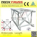 D52S-QS10 aluminum sqaure truss , heavy duty truss , stage lighting truss for exhibition