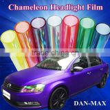 Good Quality 0.3*10m/Size Color Changing Chameleon Headlight Tint Film/ Car Window Light Film Sticker
