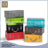 Alibaba China fashion hot sale Metal Trunk Box for Storage