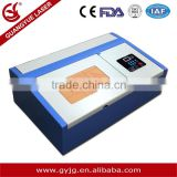 LAS,DWG,BMP,DXF,DXP,AI,PLT,DST Graphic Format Supported GY-320 Laser engraving Machine