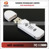USB 150mbps wireless receiver WIFI wireless ethernet adapter for TV set-top boxes