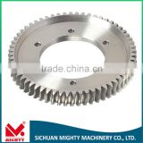 Steel Material Toothed Cog Worm Wheel and Worm Gear