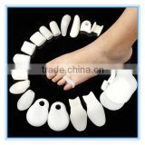 foot health care bunion and hallux valgus silicone toe spacers