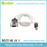 USB 2.0 TO RS232 SERIAL DB9 9 PIN Data CABLE PDA GPS