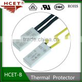 Thermal protector, Temperature protector, overload protector