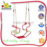PE Red double baby swing with durable Rope                                                                                         Most Popular
