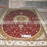Handknotted contemporay silk/wool persian silk carpet                                                                         Quality Choice