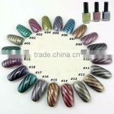 3D Magical Magnetic Magnet Nail Polish Fashion Color Nail Art 15ml / Magnet Rod 20Color for your choice HN1140