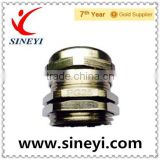 M12 M14 M16 M18 M20 M22 M24 M25 waterers connector high quality brass plated with nickel cable gland