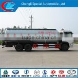 China manufacturer 6x4 bulk powder goods tanker 30000L cheap 3 axle bulk powder goods tank truck bulk capacity cement truck