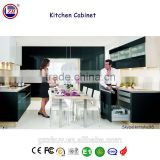 Zhihua American standard modern style kitchen cabinet, MDF kitchen cabinet, kitchen cabinet accessories in stock