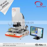 Super high precision mobile phone bga rework station with optical aligment fix 01005 capacitor