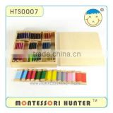 Beechwood Color Tablets (3rd Box), Montessori Toys 477 items, High quality and green equipment.