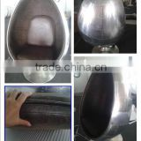 Aluminum fiberglass oval ball chair/Egg chair/Modern dining room furniture