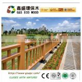 2014 latest outdoor waterproof wpc fence / wpc railing