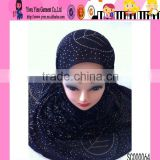Wholesale Stock Sale Hijab High Quality Diamond Hijab