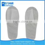 White non-woven white disposible used slippers