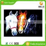 Yiwu factory gifts and crafts horse photo handmake crystal crafts diamond painting