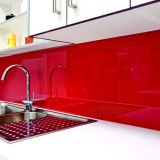 3-12mm Red, Black, Colors Painted Glass with CE and ISO9001