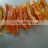 candied orange peel (dried orange peel) for chocolate or bakery