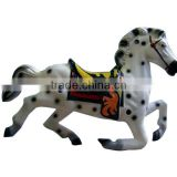 Lively mini plastic toy animal, plastic mini horse toy tools