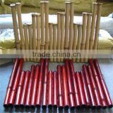 Decorative colored bamboo fence / decorative indoor fencing