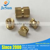 Hot Sale Injection Plastic Copper Nut Knurled Insert M4 M5 M6