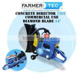 "71CC CONCRETE CUT-OFF SAW DEMOLITION BRICK ROAD WITH 14"" DIAMOND BLADE COMMERCIAL USE CEMENT CUTTER"