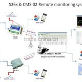 CMS-02 Industrial fuel temperature level Central Monitoring System GPRS/3G UMTS/GPS Remote temperature Monitoring System