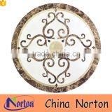 Home decorative round marble floor medallion NTMS-MM001A