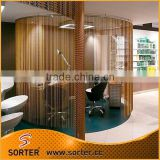 decorative metal chain link curtain,aluminum fly screen,aluminium insect screen for room divider