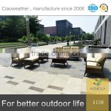 Professional OEM factory synthetic rattan outdoor furniture sofa set