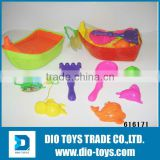Hotsale Beach Toy In Boat Shape with Sand Molds